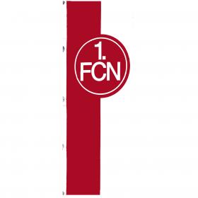 Hissfahne, rot-weiß, 150x400 cm