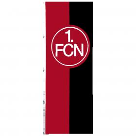 Hissfahne, rot-schwarz, 150x400 cm