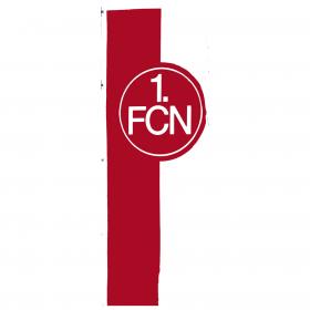 Hissfahne, rot-weiß, mit Hohlsaum, 150x400 cm