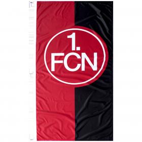Hissfahne rot-schwarz 120 x 250 cm
