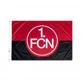 Hissfahne rot-schwarz, 100 x 150 cm