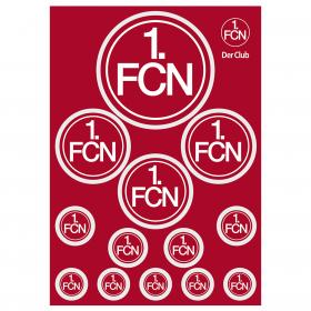 Aufkleberkarte Logo DIN A5