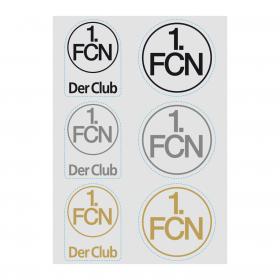 Aufkleberkarte Logo transparent DIN A5