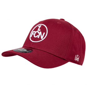Cap Logo weinrot