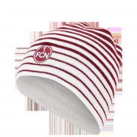 Mütze Ringel rot-weiß Kids