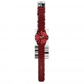 Armbanduhr Fan rot