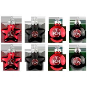 Mini-Weihnachtsschmuck 8er-Set