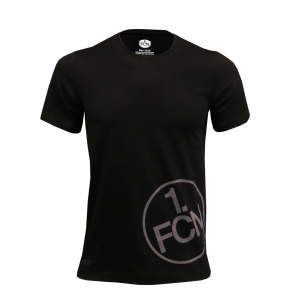 T-Shirt 'Logo' schwarz Kids