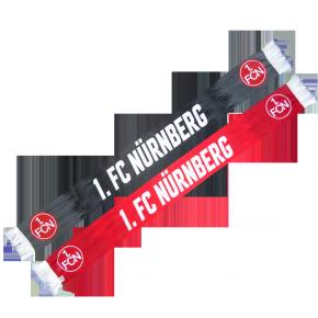 Seidenschal 1. FCN<br/> rot-schwarz