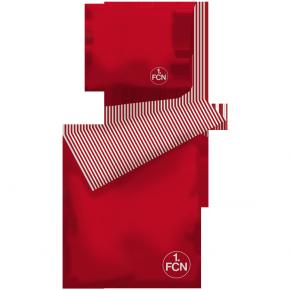 Bettwäsche Streifen rot