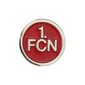 Pin 1. FCN<br/> silber-rot