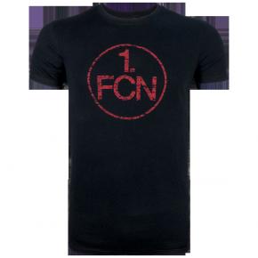 T-Shirt Logo used schwarz