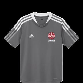 adidas FCN Trainingsshirt 21/22 Kids grau