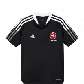 adidas FCN Trainingsshirt 21/22 schwarz Kids