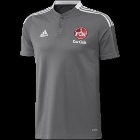 adidas FCN Poloshirt 21/22 grau