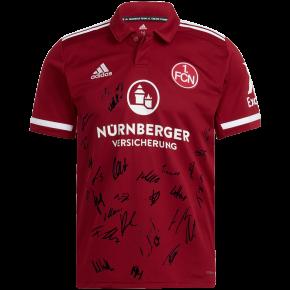 adidas FCN Heimtrikot 21/22 signiert