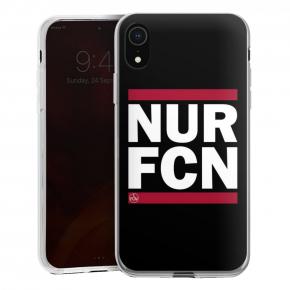 Handyhülle NUR FCN schwarz