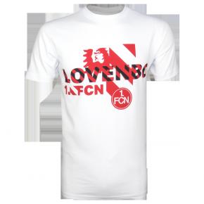 T-Shirt Love NBG weiß