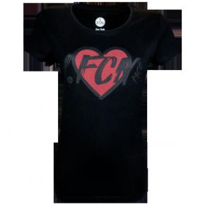 Lady-Shirt Herz 1. FCN<br/>